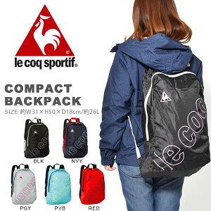 dc7998dfa604 ルコック le coq sportif コンパクトバックパック 26リットル リュックサック スポーツバッグ バッグ かばん カバン