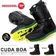 送料無料 ROSSIGNOL ロシニョール スノーボード ブーツ スノボ CUDA BOA メンズ 紳士 スノーブーツ ボア 国内正規代理店品 50%off