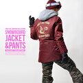 送料無料スノーボードウェア上下セットレディースCoachJacketコーチジャケットバックプリントスノーウエアスノーボードウェアスノボウエアSNOWBOARD16-172016-2017冬新作