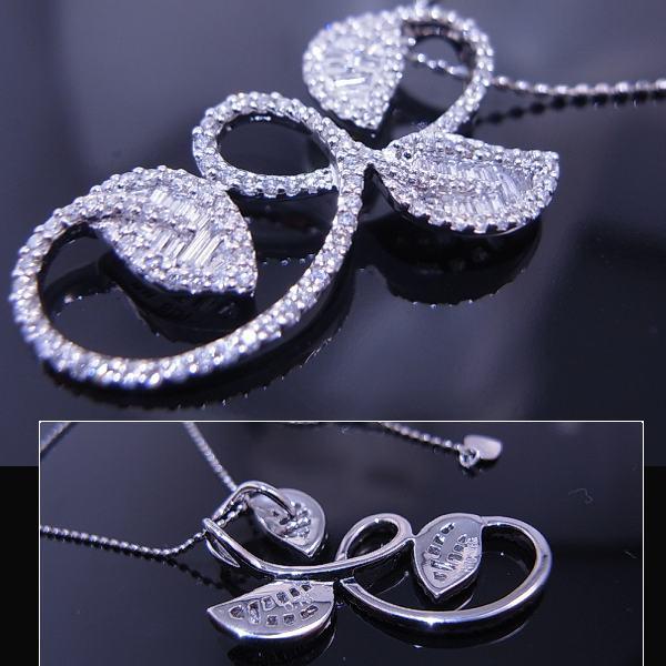 鑑別付高品質ダイヤ1.78ctデザインネック■770
