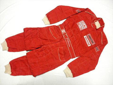【送料無料】 ジャック・ヴィルヌーブ 1992年 全日本F3 支給品 実使用 直筆サイン入り レーシングスーツ (海外直輸入 F1 非売品USEDグッズ メモラビリア)