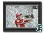 【メール便送料無料】 キミ・ライコネン 2007年 フェラーリ F1 ブラジルGP2 A4サイズ 生写真 (海外直輸入 F1 グッズ)
