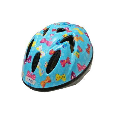 【徳島双輪】TETE スプラッシュハートリボン Sサイズ(52-56cm)キッズ・子供用ヘルメット
