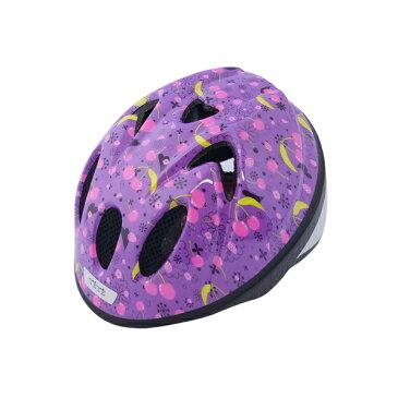 【徳島双輪】TETE スプラッシュハートチェリーパープル XSサイズ(48-52cm)キッズ・子供用ヘルメット
