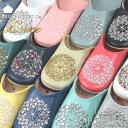 モロッコ バブーシュ mocororo luxe (レディース)本革 ビーズ スパンコール ルームシ...