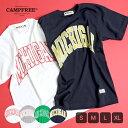 【メール便 送料無料】CAMPFREEMICHIGANプリントTシャツ (大人サイズ)メンズ・レディース