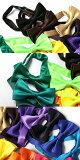 【ネクタイ★2本買うと送料無料】カラバリで選ぶカラー蝶ネクタイ(20カラー)★メンズ・キッズ兼用★大人、子供兼用サイズです。【無地・ボウタイ・ジュニア・結婚式・スーツ・シャツ・MHA】20521