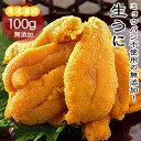 天然ウニ Aランク 100g 無添加 生食用【冷凍便】