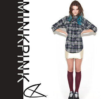[MINK PINK/ミンクピンク]POTTERS FIELD SHIRT