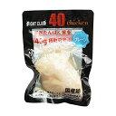 ファイトクラブ 40Chicken 40チキン うすしお味 プレーン 145g 10個セット 無添加 鶏肉 国産 サラダチキン