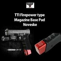 【マルイG17/18C用】ReadyFighterTTIFirepowerタイプマガジンベースパッドNOVESKE刻印