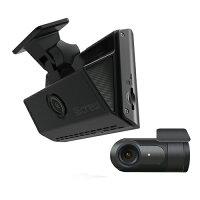 ドライブレコーダーS-crewタッチパネル搭載コンパクト前後2カメラ(FHD+FHD)ISDR-500