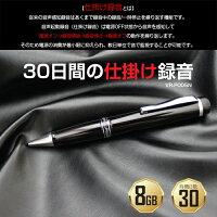 仕掛け録音対応ペン型ボイスレコーダーVR-P005N送料無料