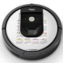 ルンバ Roomba iRobot 【960 980 対応】 専用スキンシール カバー ケース 保護 フィルム ステッカー デコ アクセサリー 掃除機 家電 005780 ユニーク カレンダー 2014