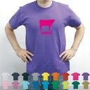 牛/名入れTシャツ お名前入り オリジナル セミオーダーメイド チームTシャツ 卒団記念品Tシャツ サークル 綿100ホルスタイン、ビーフ、牛肉、牛乳