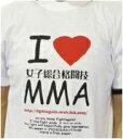 I love 女子総合格闘技Tシャツ!【I LOVE MMA Tシャツ】(メール便送料無料)女子総合格闘技、...