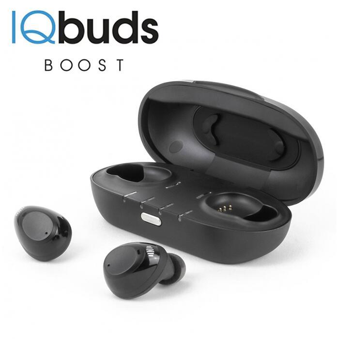 IQbudsBOOST(アイキューバッズブースト)|集音器充電式ワイヤレスワイヤレスイヤホンワイヤレス集音器両耳タイププレゼントギフト