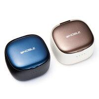 NobleAudioFalcon2完全ワイヤレスイヤホンBluetooth5.2IPX7防水長時間音楽再生ワイヤレス充電ヒアスルー機能QualcommaptXAdaptivecVc8.0ノイズキャンセリングマイク内蔵