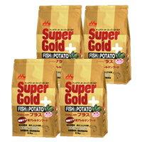[]4個セット スーパーゴールド フィッシュ&ポテト プラス 関節の健康に配慮2.4kg
