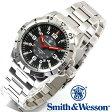 [正規品] スミス&ウェッソン Smith & Wesson スイス トリチウム ミリタリー腕時計 EMISSARY WATCH SILVER SWISS TRITIUM SWW-88-S [あす楽] [ラッピング無料] [送料無料]