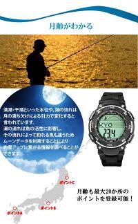 タイドグラフ腕時計