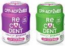 【送料無料】歯科専用ガムリカルデント 粒ガム ボトル歯科医院専用RECALDENT 140g×12本 グリーンミント味グレープミント味パッケージデザインが変更になる場合があります。 その1