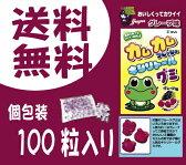 【メール便送料無料】カムカムフレッシュ キシリトールグミ グレープ味1袋100粒入