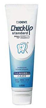 【新発売】Check-Upstandardチェックアップスタンダード135g1450ppmFDENT.ライオン
