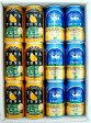 お祝い・内祝いに!大人気地ビールの飲み比べギフト!!!★よなよなエールと銀河高原ビール小麦のビール350mlそれぞれ6缶★