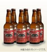 南信州ビール りんごの発泡酒 アップルホップ 330ml瓶 6本セット 80サイズクール便にて発送