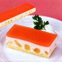 白桃ムースすぐ解凍でいつでも食べられるフリーカットケーキ550g約7×36cmプロ仕様フレック味の素