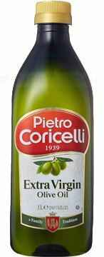 【本州のみ 送料込み】ピエトロ・コリチェッリ エキストラバージン オリーブオイル 1L ペットボトル 12本入り 5ケース1000ml オリーブ油北海道・四国・九州行きは追加送料220円かかります。