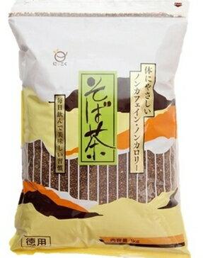 【メール便 送料無料】日穀製粉 そば茶 1kg