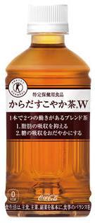 からだすこやか茶W 350mlペットボトル 24本入り日本コカ・コーラ株式会社
