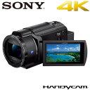 【返品OK!条件付】ソニー デジタル4Kビデオカメラレコーダー ハンディカム FDR-AX45-B ブラック 【KK9N0D18P】【80サイズ】