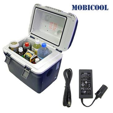 【返品OK!条件付】【セット】 MOBICOOL ポータブルクーラーボックス 容量20L 小型 +AC/DCアダプターセット CT20DC-MPA-5012 【KK9N0D18P】【140サイズ】