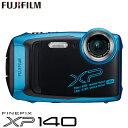 【返品OK!条件付】富士フイルム タフネスカメラ FinePix XP140 防水 耐衝撃 防塵 耐寒 4K動画 デジタルカメラ XPシリーズ FX-XP140SB スカイブルー【KK9N0D18P】【60サイズ】 1
