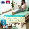 日本製 アウトラスト ひんやり敷きパッド シングルサイズ冷却マット クールマット クールシーツ outlast 冷感 ベッドパッド 温度調節 寝具 暑さ対策 夏 エムール