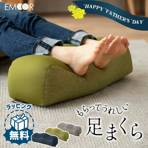 足枕 父の日 ギフト プレゼント 実用的 2021 クッション まくら むくみ 足まくら あしまくら 腰痛 フットピロー...