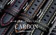 EMPIRE CARBON(カーボン) 時計 ベルト イタリアンレザー 本革 バンド 18mm 20mm 22mm