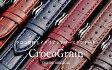 EMPIRE CrocoGrain(クロコ・グレイン) 時計 ベルト イタリアンレザー クロコ 本革 バンド 18mm 20mm ダニエルウェリントン オメガ セイコーにも