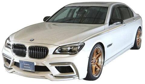 【M's】BMW 7シリーズ F01/F02(2009.3-)エアロ 4点 セット ショート ロング / ENERGY MOTOR SPORT // フロント バンパー キット / サイド スポイラー / リア アンダー スポイラー / トランクスポイラー / EVO 01.1/02.1 ボディ キット