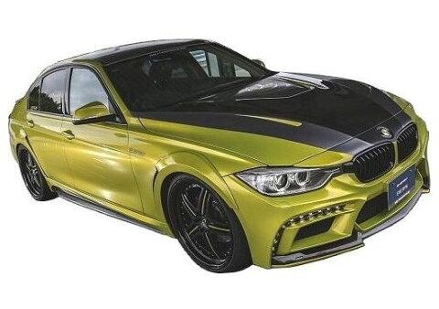 【M's】BMW 3シリーズ F30(2012.1-)エアロ 4点 FRP セット / ENERGY MOTOR SPORT // フロント バンパー / サイド スポイラー / リア バンパー キット / トランクスポイラー / EVO 90.3 ボディ キット スタンダードモデル