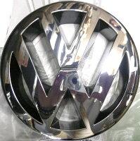 【M's】VWゴルフ5(GOLF5)ポロトゥーランイオス(EOS)ジェッタ/純正品フロントグリルエンブレム新品