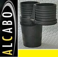 【M's】VWティグアン(08y-16y)ALCABOドリンクホルダー(ブラックカップタイプ)//アルカボカップホルダー黒TIGUANAL-B107BALB107B