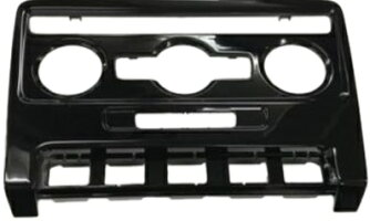【M's】VWニュービートル(1998y-2010y)純正品グロスブラックエアコンパネル(オートエアコン用)//フォルクスワーゲンVOLKSWAGENNewBeetle9C9N1Y251143