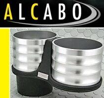【M's】アルファロメオジュリエッタ(2011y-)ALCABOドリンクホルダー(シルバー)//ツインタイプAlfaRomeoGiuliettaアルカボAL-B108SALB108S新品