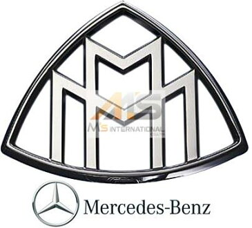 【M's】X222 メルセデス マイバッハ S550 S600(2015y-)純正品 Cピラー エンブレム 1個//W222 MERCEDES-MAYBACH ベンツ 正規品 222-817-1200 2228171200