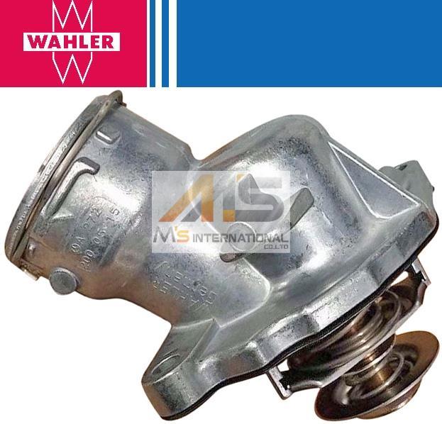【M's】ベンツ W463 Gクラス/X164 GLクラス/X204 GLKクラス V6/V8(M272/M273)WAHLER製・他 サーモスタット(ガスケット付/100℃開弁)//純正OEM G550 GL550 GLK350 272-200-0515 2722000515 273-200-0215 2732000215