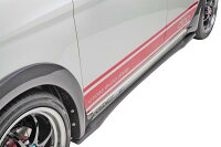 【M's】ホンダN-ONEクロスユーロスタイル660フルエアロ3点(F,S,R)//ホンダN-ONEフロントリップスポイラーサイドステップ(左右)リアディフューザFRP製未塗装社外品受注生産高品質新品